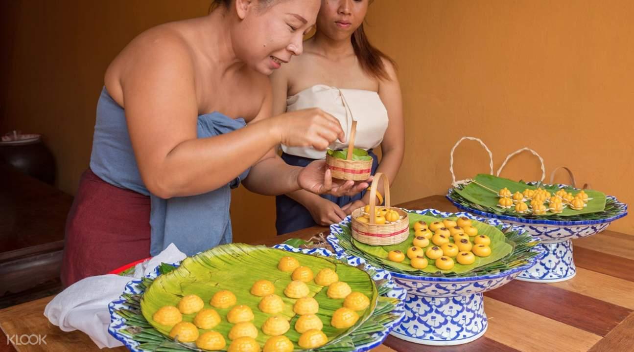 thai afternoon tea