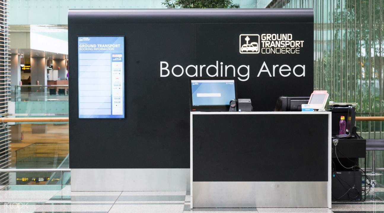 Hotel Transfer Counter Changi Airport