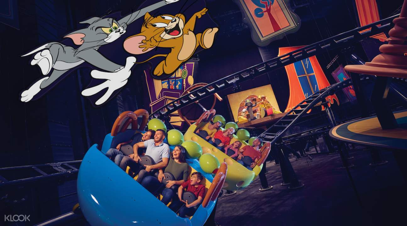 Tom and Jerry at warner bros world in abu dhabi