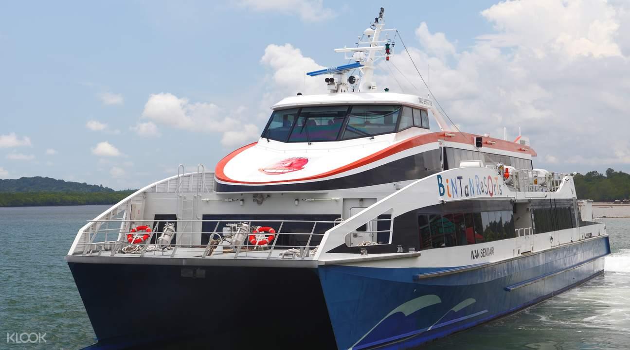 เรือเฟอร์รี่จากสิงคโปร์ไปบินตัน