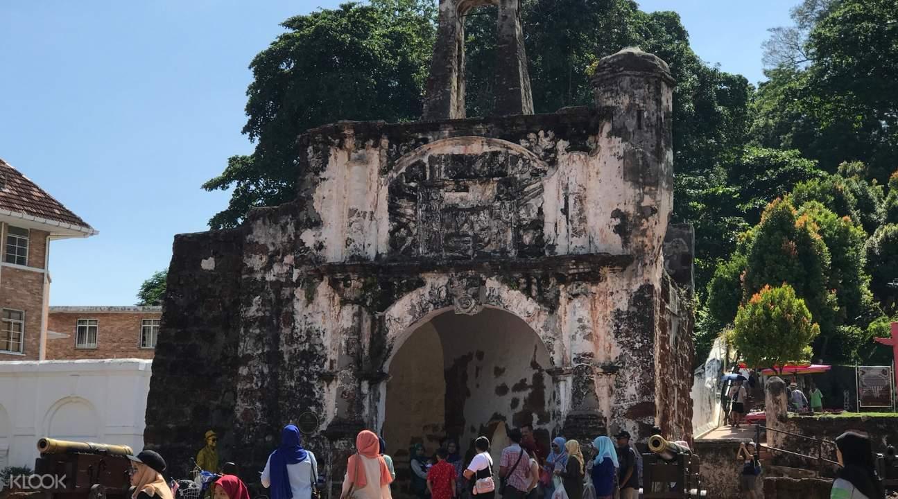 ruins in melaka