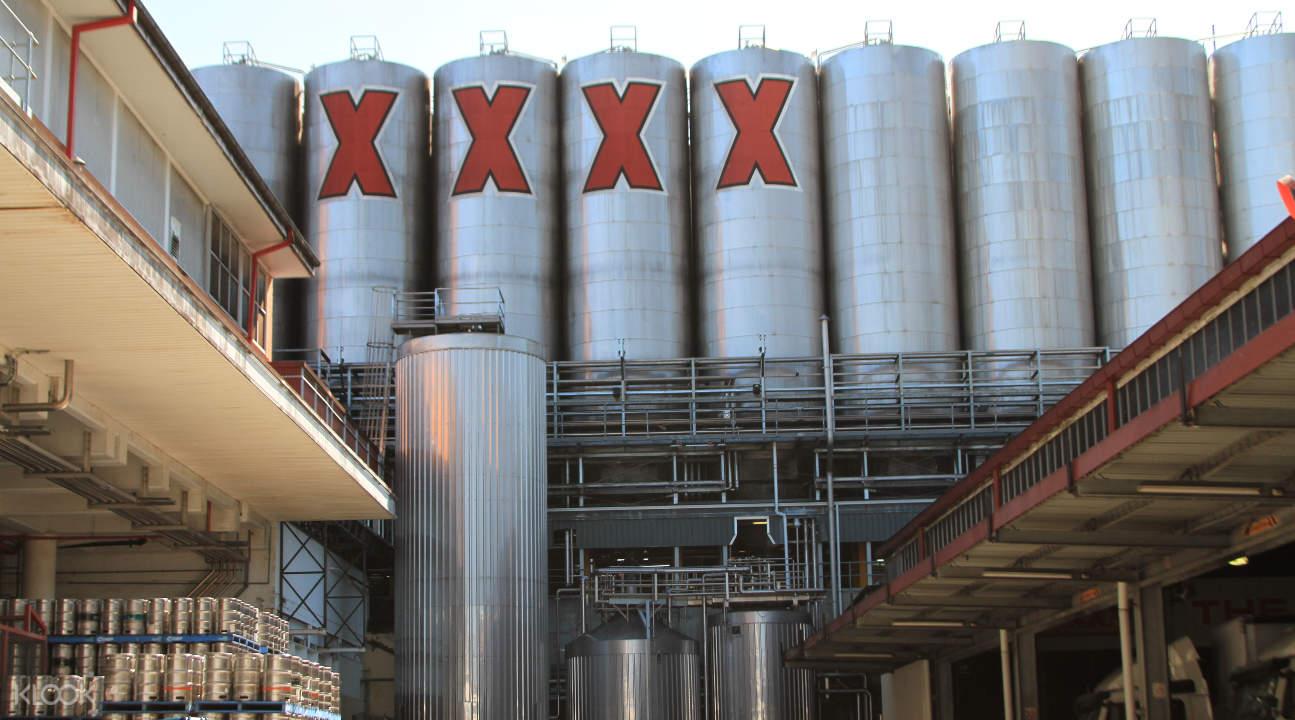 เยี่ยมชมโรงเบียร์ XXXX Brewery
