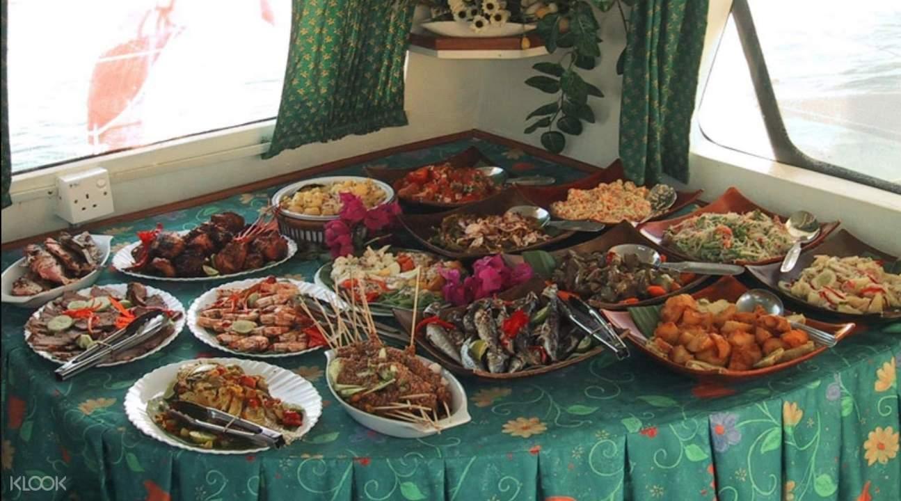 Langkawi luxury cruise BBQ dinner