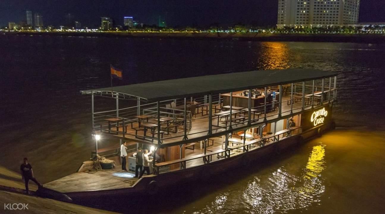 pelayaran sunset phnom penh