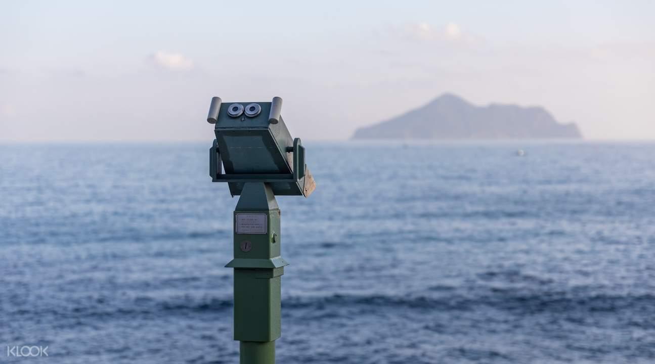 Beiguan Tidal Park sea viewing pavillion