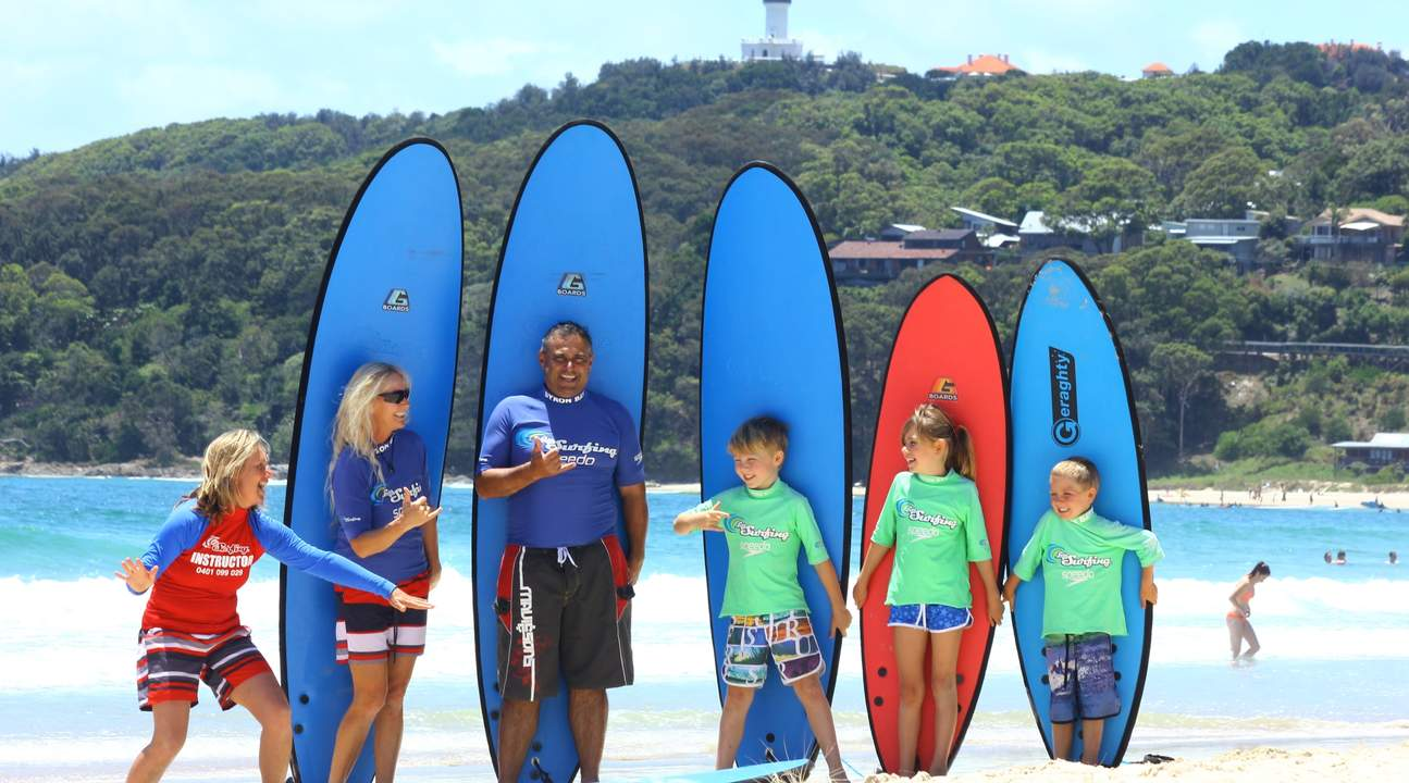 Byron Bay Private Surf Lesson