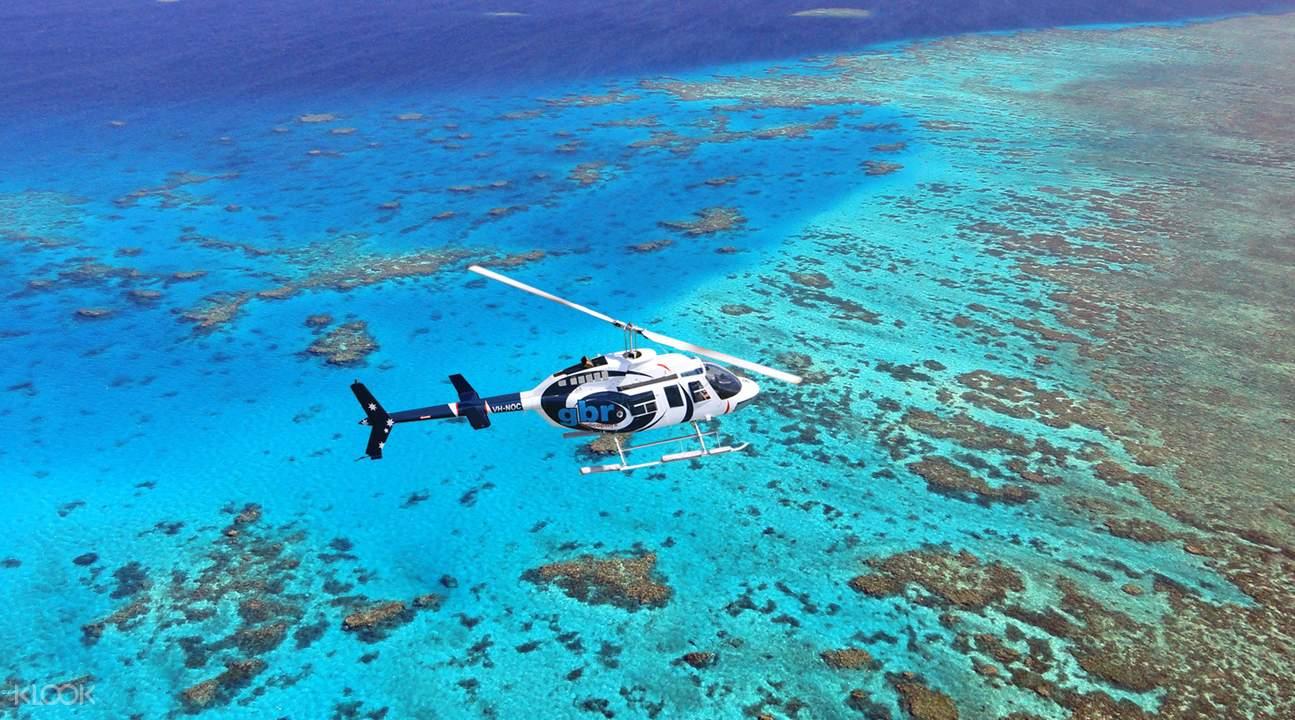 coral reef green island