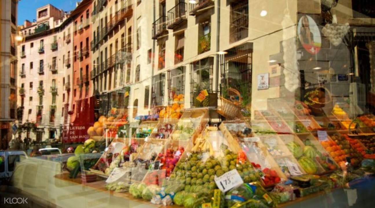 food and wine tours madrid