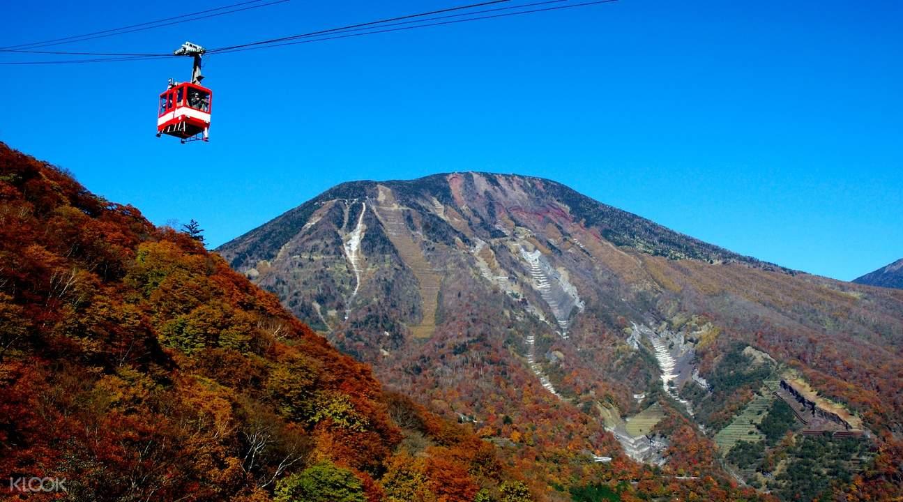 mountain view in kinugawa