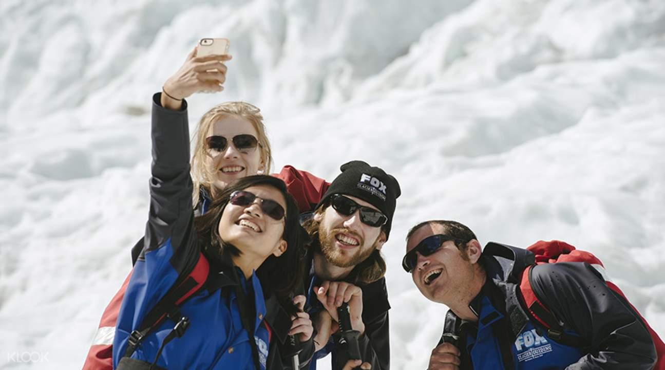 福克斯冰川峽谷直升機體驗