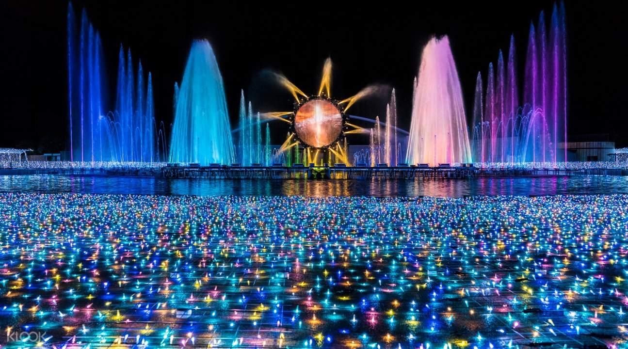 yomiuriland illumination show