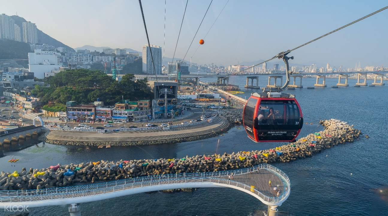 cable cars in Busan