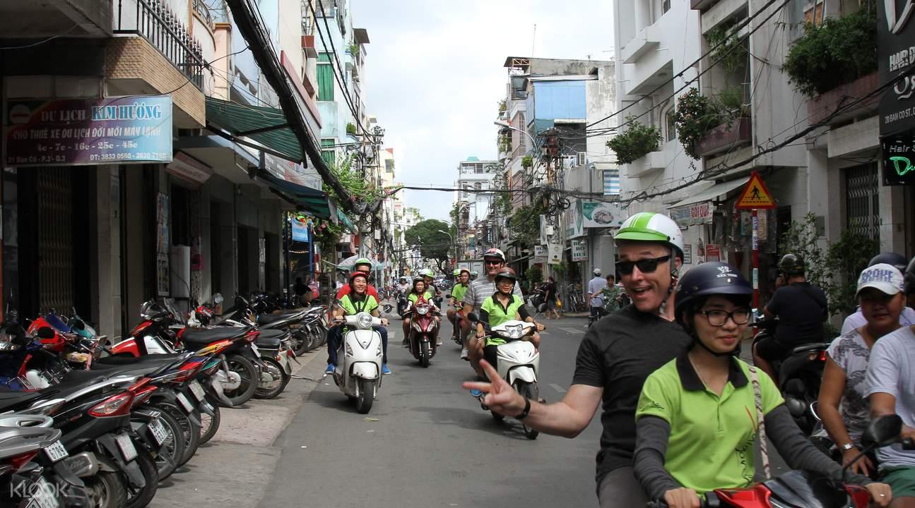 hcmc scooter tour