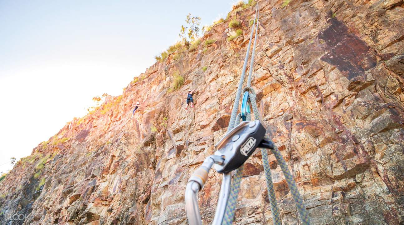outdoor rock climbing kangaroo point cliffs
