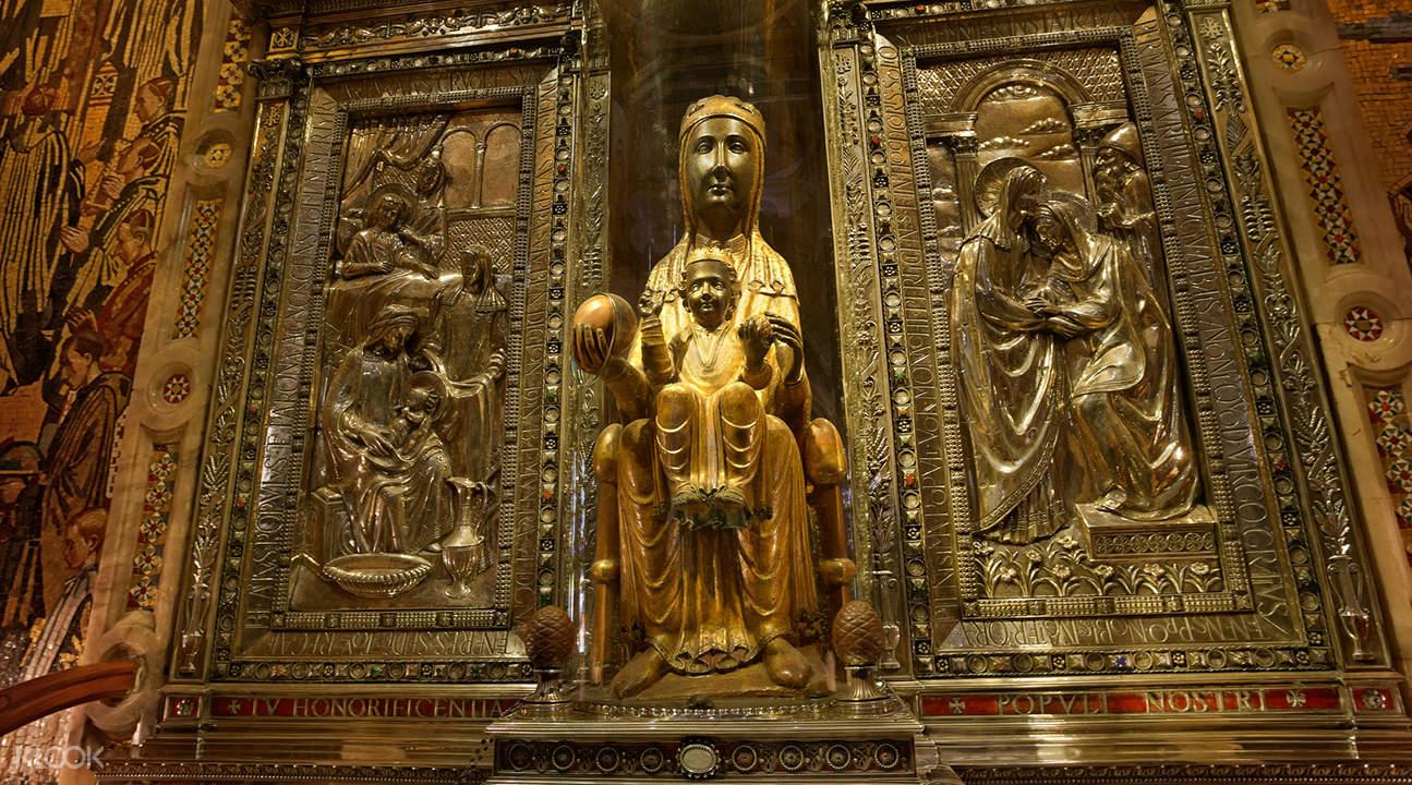 montserrat royal basilica tour