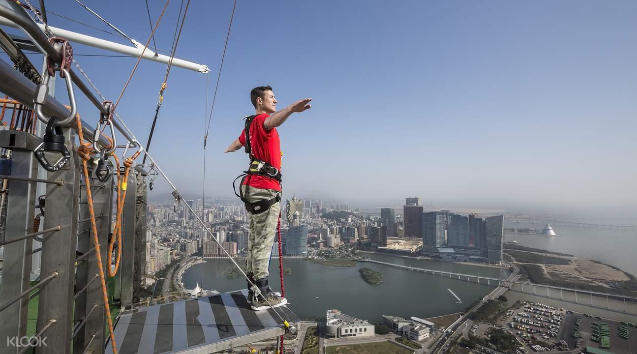 Bungy jump in Macau