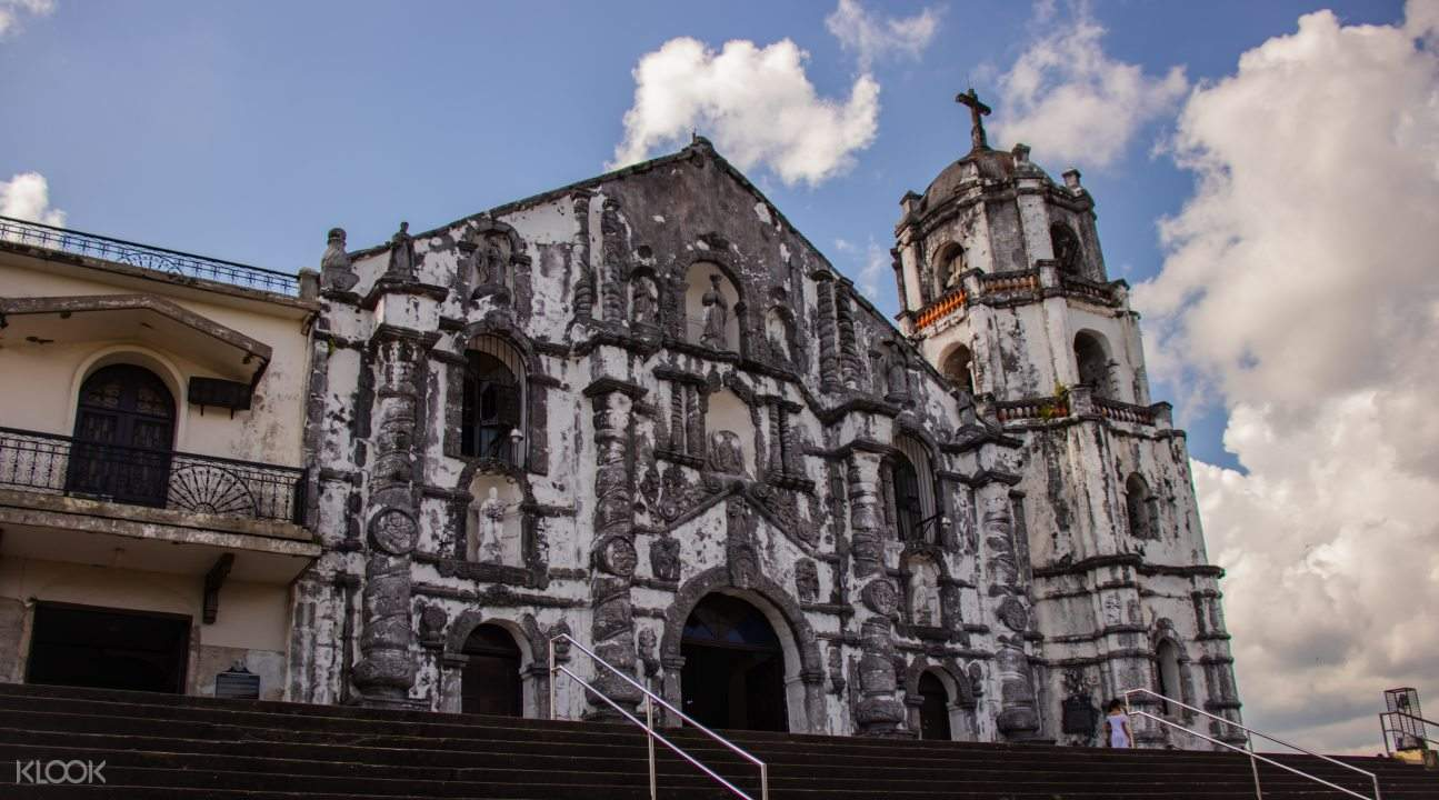 Cathedral exterior of Cagsawa Ruins