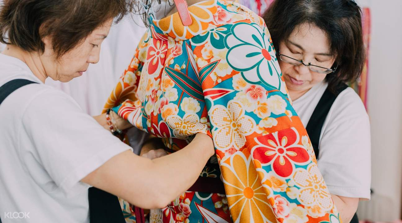 staff of Kimono Miyabi