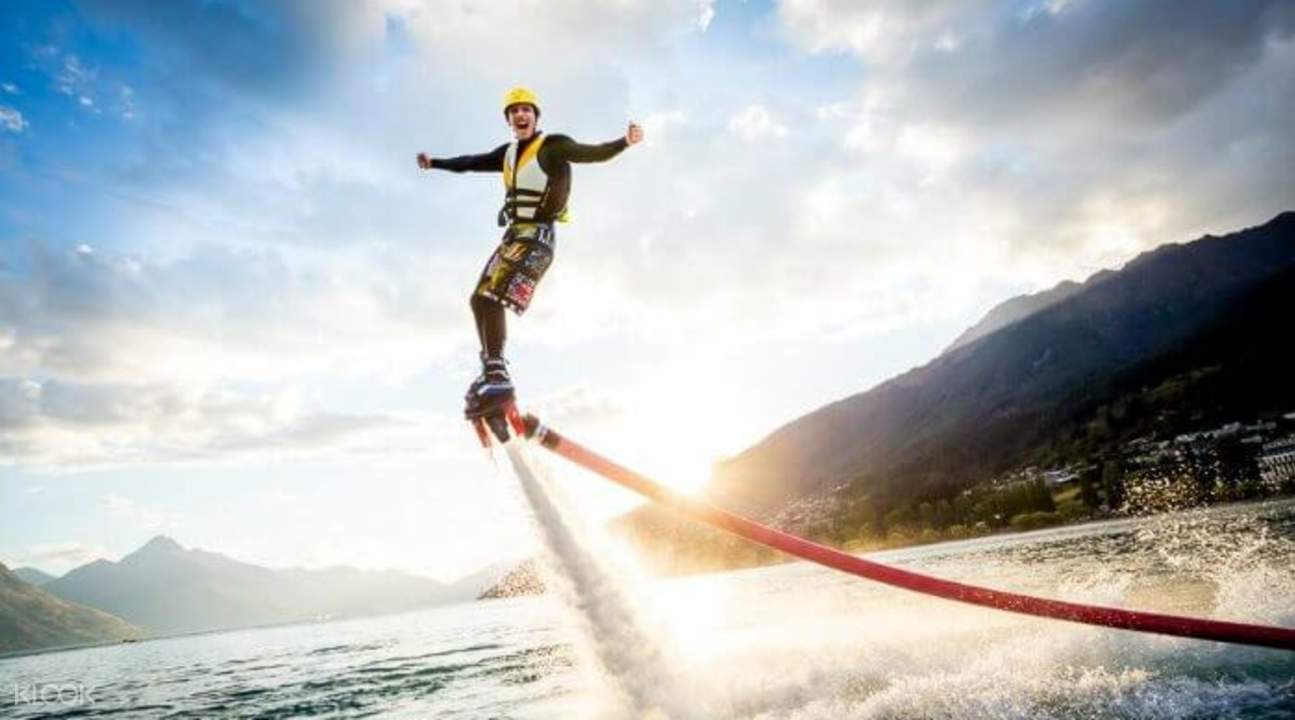 Flyboard photography