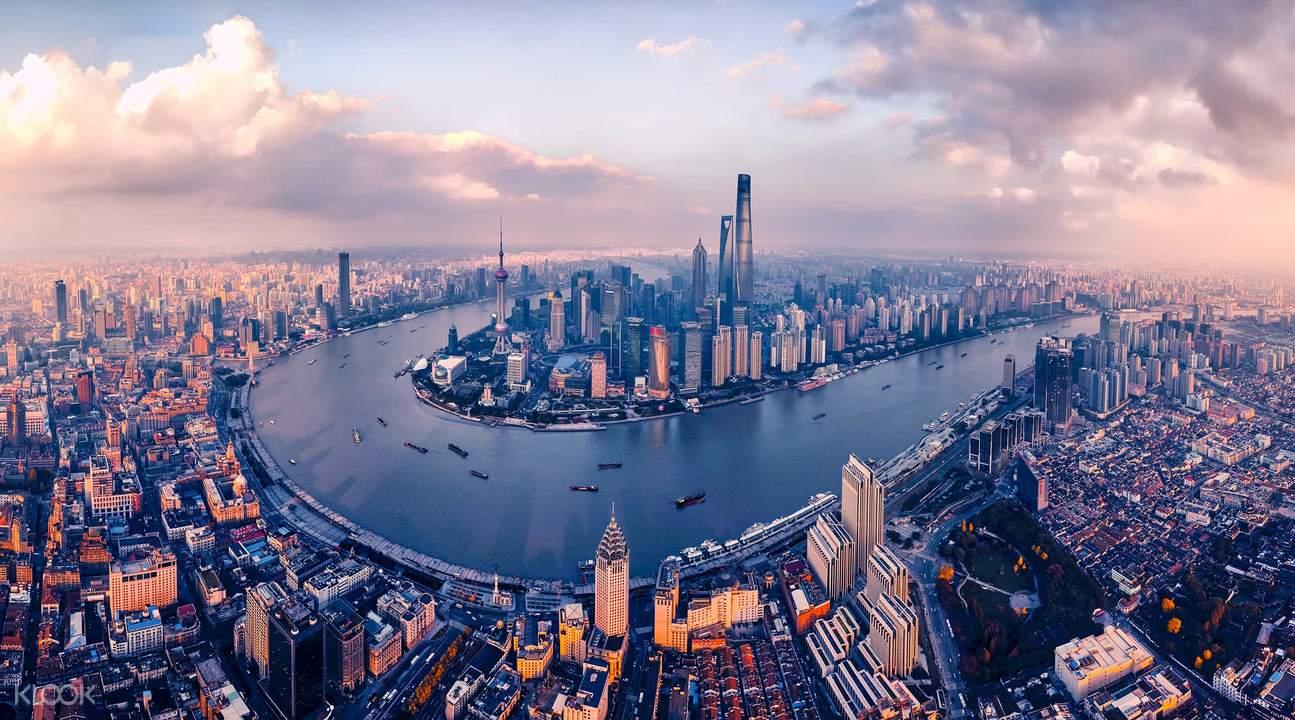shanghai tower view
