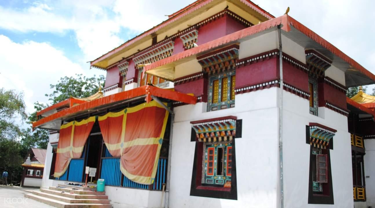 enchey monastery in gangtok