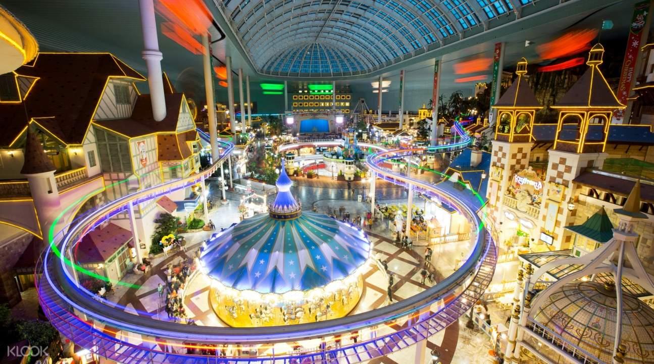 lotte world indoor attractions