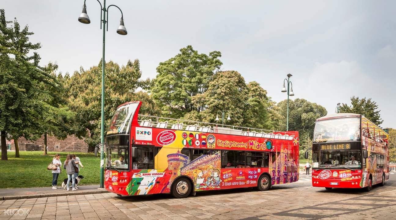 sightseeing bus tour milan