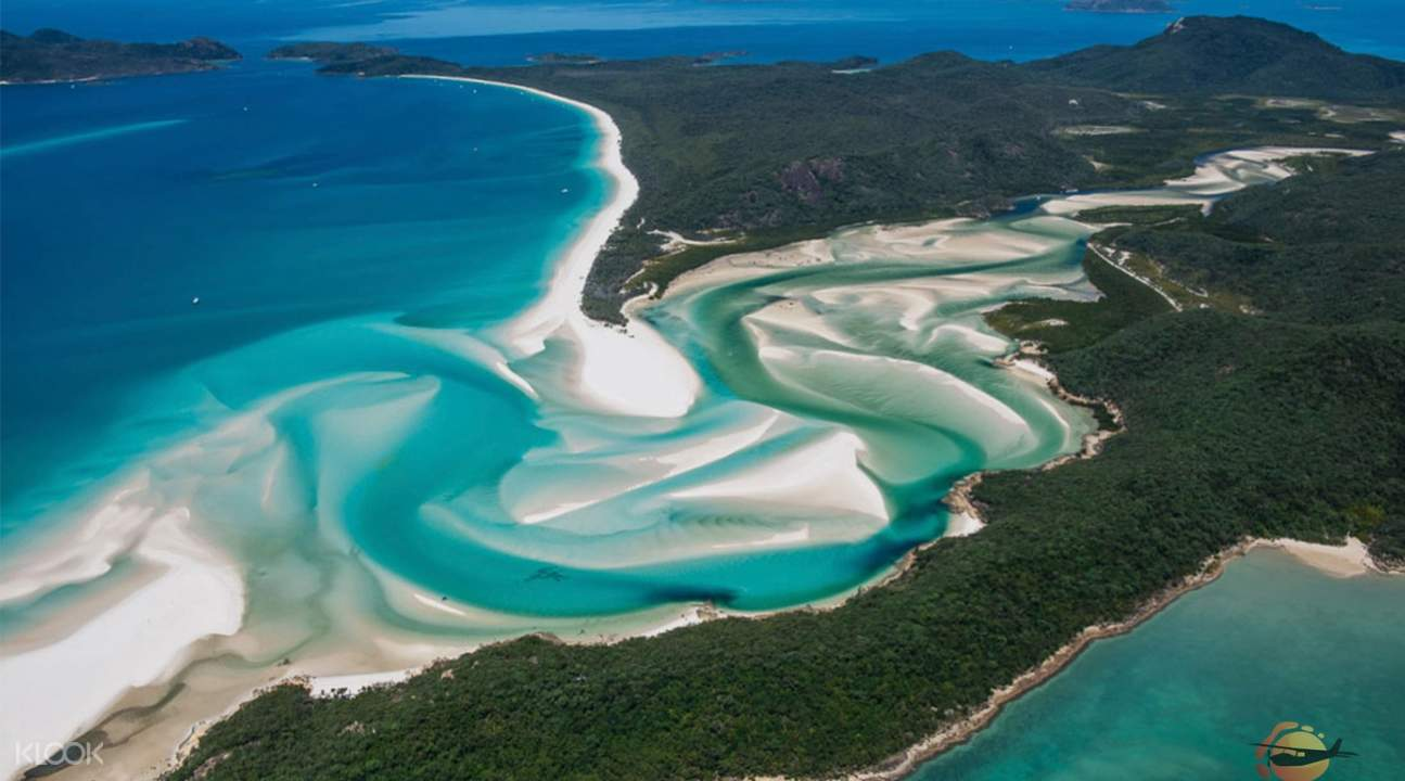 view of whitsunday islands