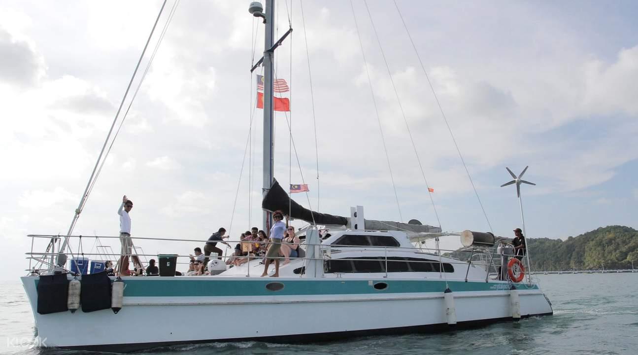 Langkawi luxury cruise yacht