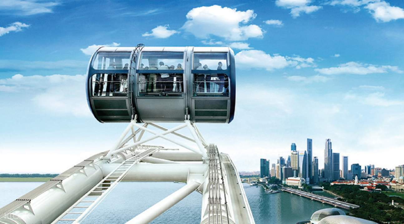 singapore flyer singapore attraction pass