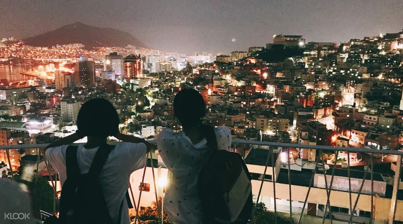 a view of busan city