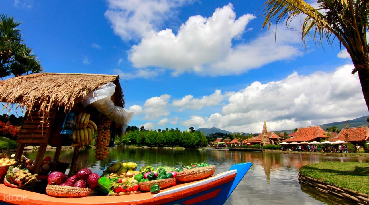 Lembang Floating Market Bandung Indonesia