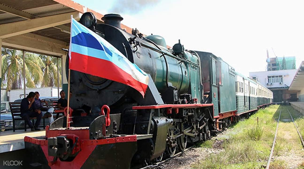 steam train in sabah malaysia