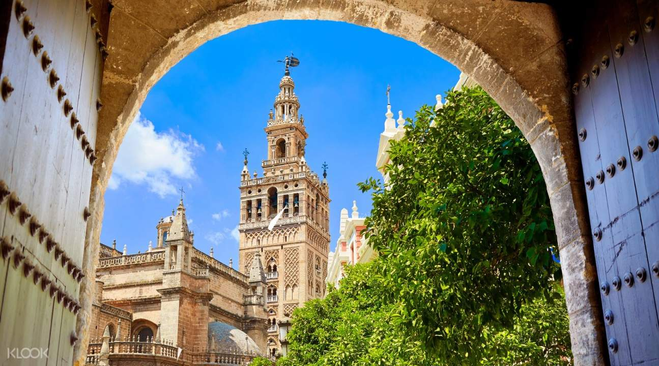 Cathedral of seville view