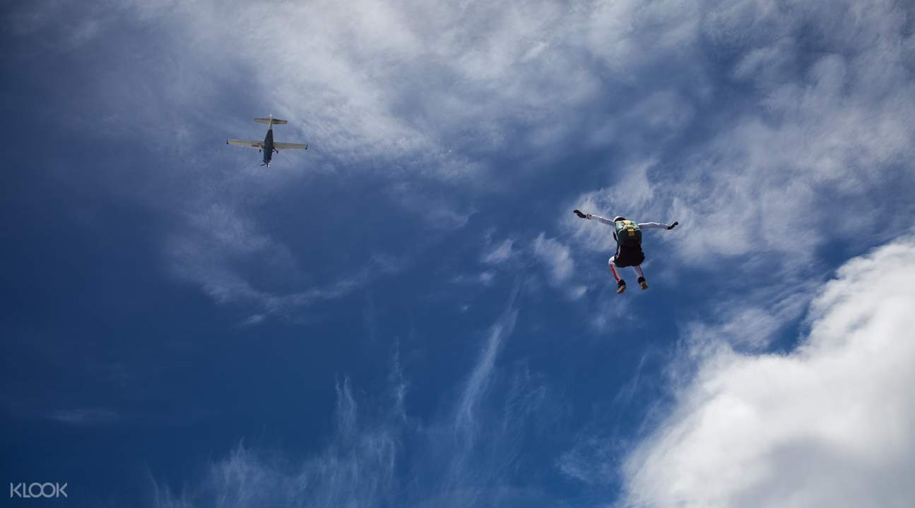 Skydive Noosa skydive freefall