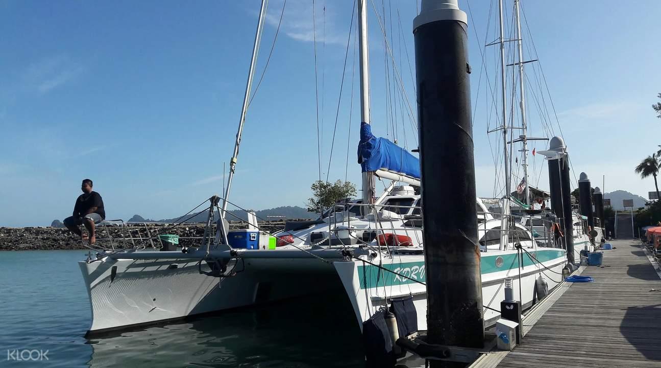 Langkawi luxury cruise transfers