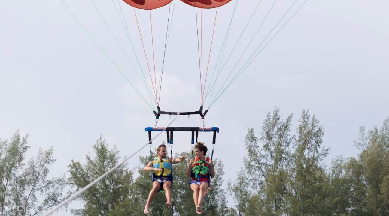 parasailing adventure in Langkawi