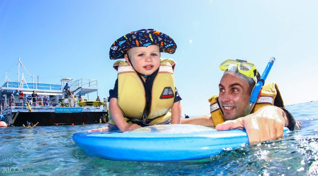 Great Barrier Reef Adventures oleh Cruise Whitsundays dari Airlie Beach atau Hamilton Island