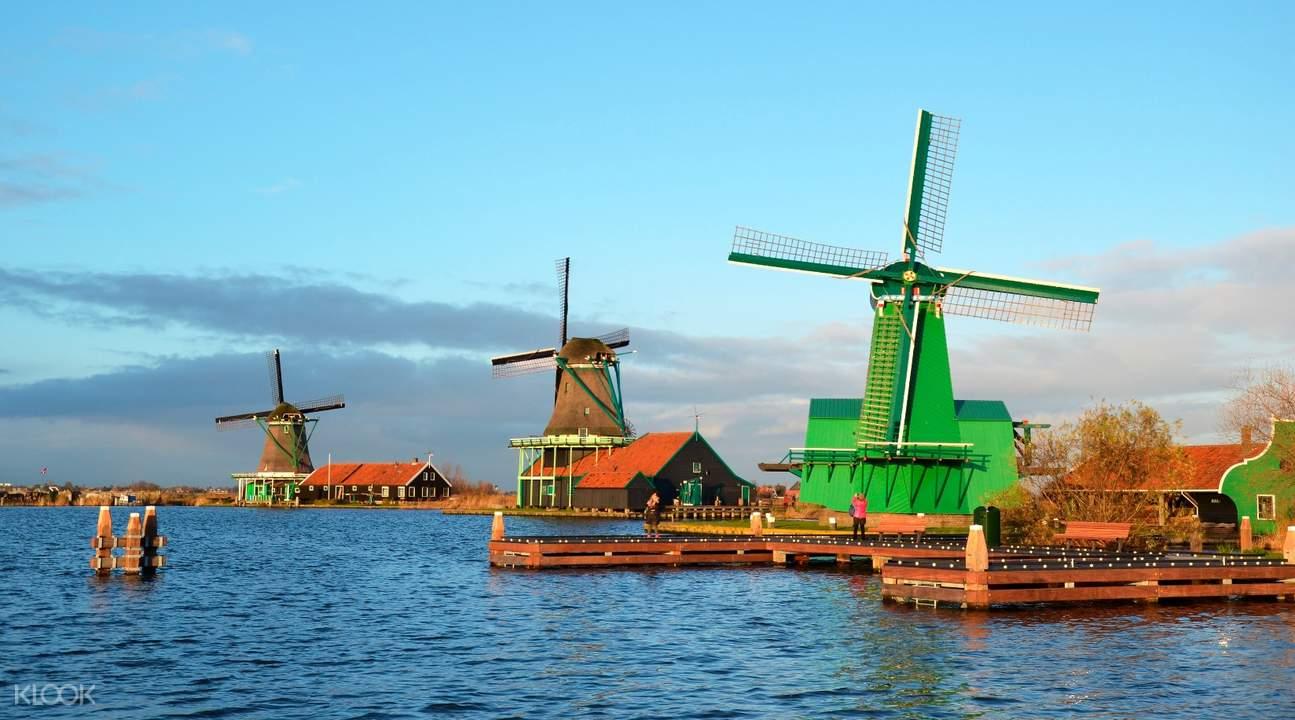 Zaanse Schans Windmill Village