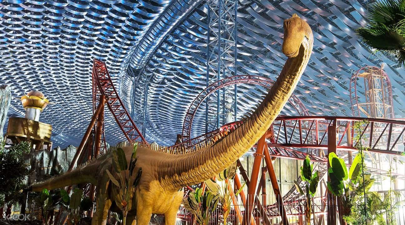 the lost valley dinosaur ride