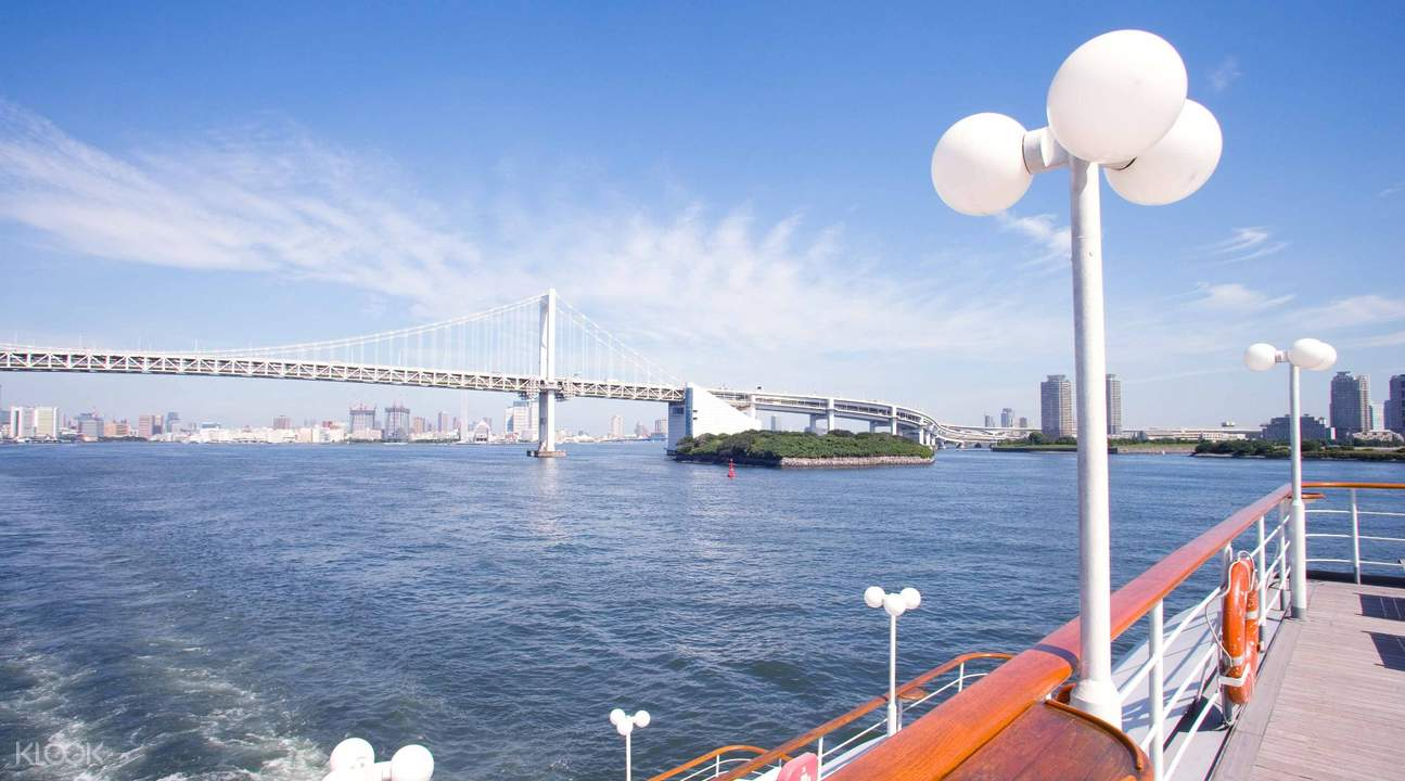 Tokyo Bay Afternoon Cruise Tea Time Plan