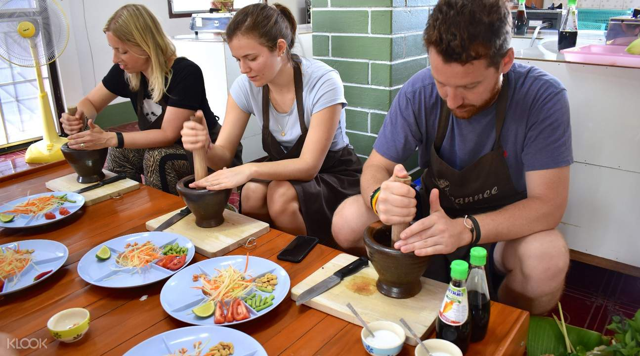 Suwannee Thai Cooking Class with Market Tour Thailand