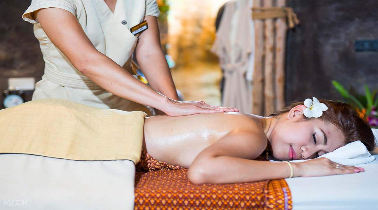 body massage treatment Cave Rai Ra Spa koh samui thailand