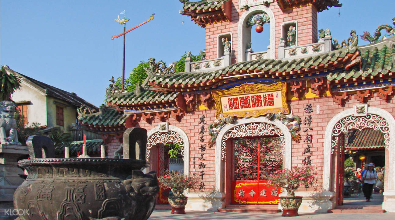 the Fukian Assembly Hall in Hoi An