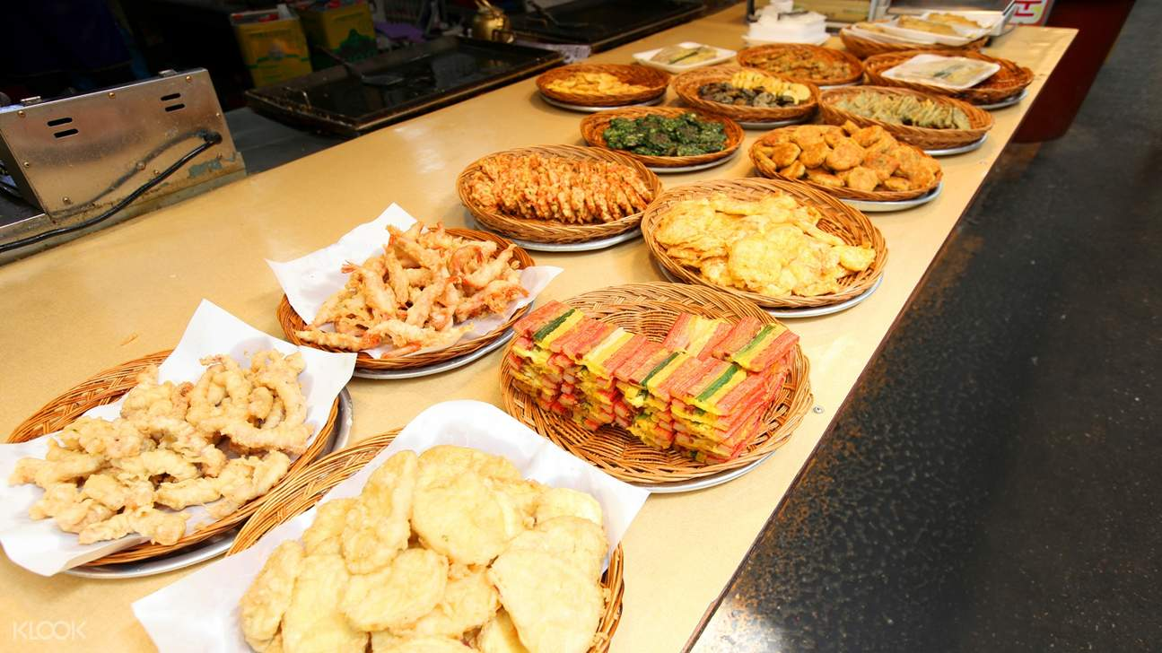 jungang market food