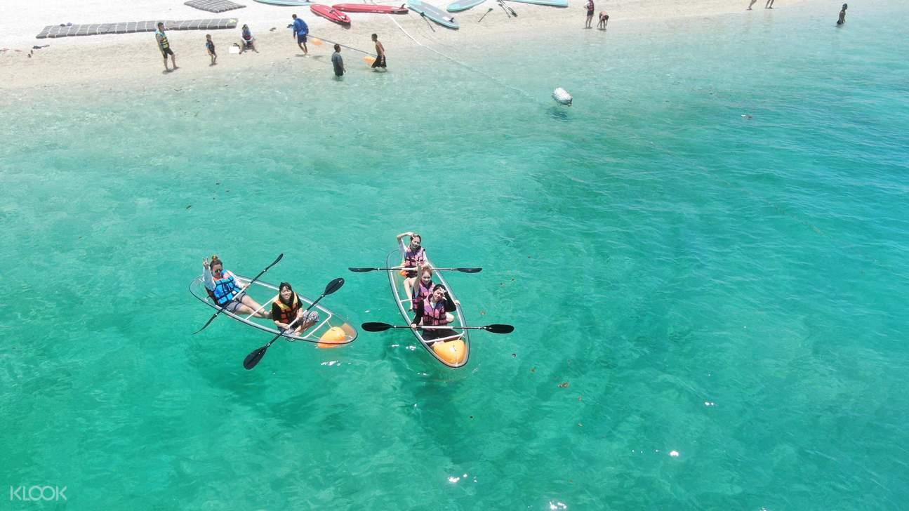 澎湖東海龍蝦島跳島體驗