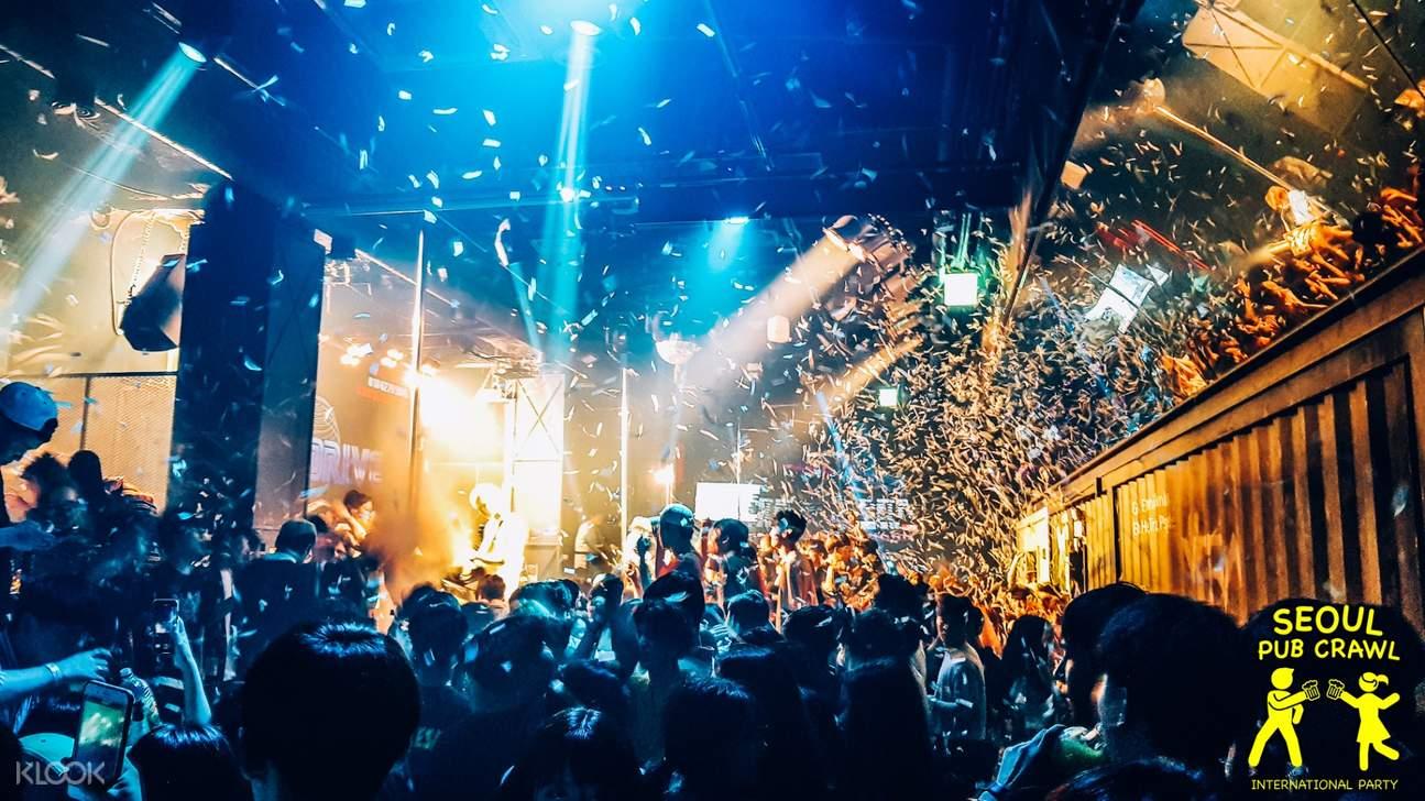 Inside nightclub
