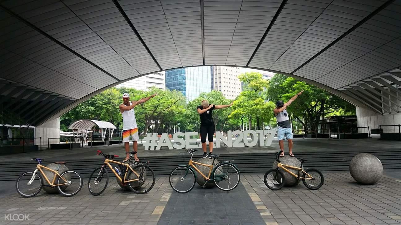 馬尼拉,馬卡蒂,馬尼拉騎行,馬卡蒂騎行,竹製自行車