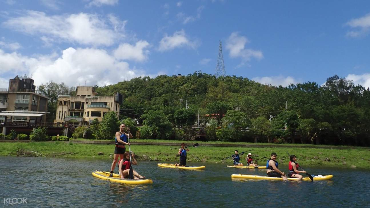 Stand Up Paddleboard Experience at Pinglin Riverside Park