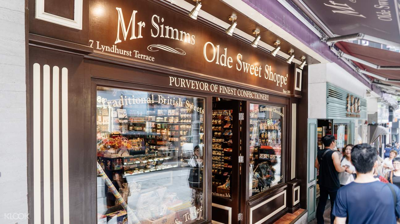 mr simms olde sweet shoppe mong kok